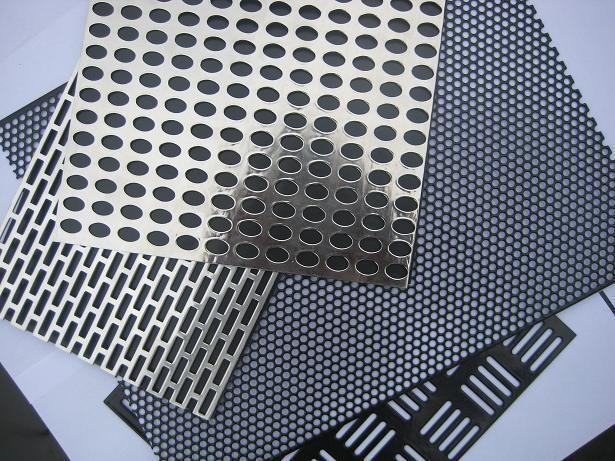 呼和浩特冲孔网板的生产制作流程